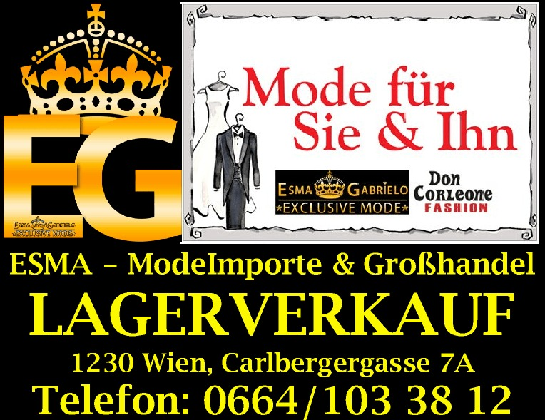 Don Corleone Fashion - Wien - aktuelle & exclusive Herrenmode - FASHION OUTLET VIENNA - Lagerverkauf & Gro�handel